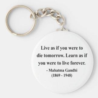 Gandhiの引用文4a キーホルダー