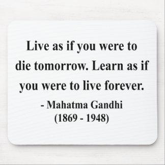 Gandhiの引用文4a マウスパッド