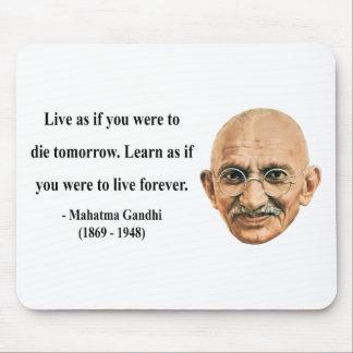 Gandhiの引用文4b マウスパッド