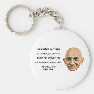 Gandhiの引用文7b キーホルダー