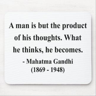 Gandhiの引用文8a マウスパッド