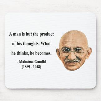 Gandhiの引用文8b マウスパッド