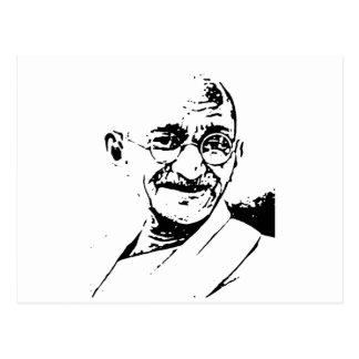 Gandhi ポストカード