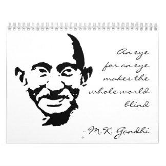 Gandhi 2012-13のカレンダー カレンダー