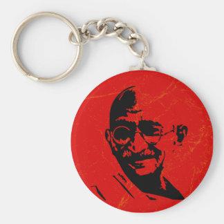 Gandhi Keychain キーホルダー
