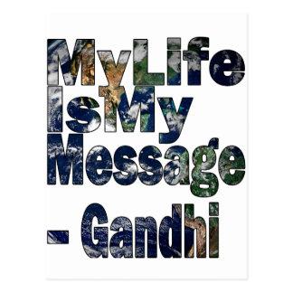 Gandhi Qoute ポストカード