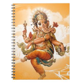 GANESHのヒンズー教の神 ノートブック