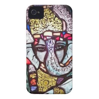 Ganeshのブラックベリーの箱 Case-Mate iPhone 4 ケース