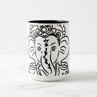 Ganeshのマグ ツートーンマグカップ