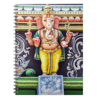 Ganeshの偶像の彫刻 ノートブック