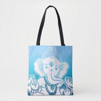 Ganeshの青くグラデーションなバッグ/トート トートバッグ