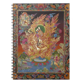 Ganeshの4武装したノート ノートブック