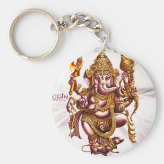 Ganesh主の開運のお守り キーホルダー