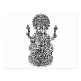Ganesh主 ポストカード