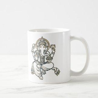 """""""Ganesh """" コーヒーマグカップ"""