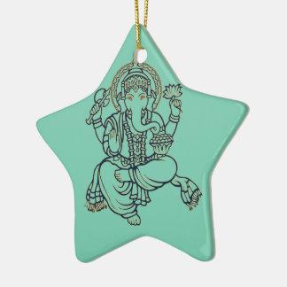 Ganesh セラミックオーナメント