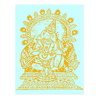 Ganesh: 成功の神 ポストカード