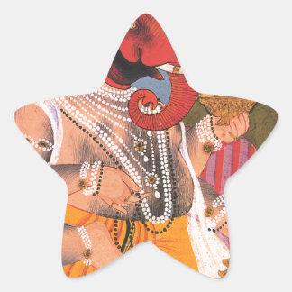 Ganesh 星シール