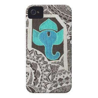 Ganesh -複雑な白 Case-Mate iPhone 4 ケース