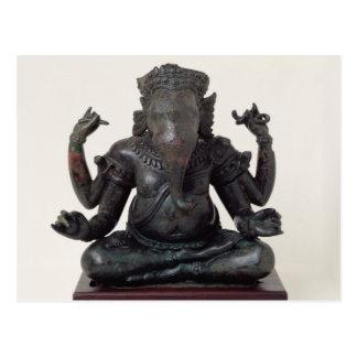 Ganesh、遅く第12早13世紀、Angkor ポストカード