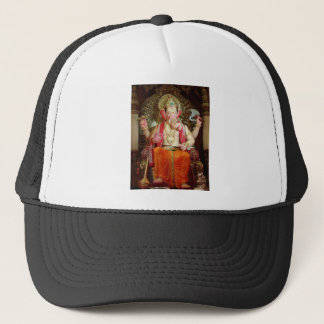 Ganesh Ganeshaヒンズー教のインドのアジアゾウの神 キャップ