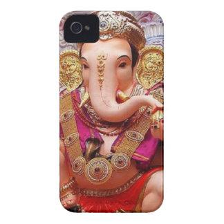 Ganesh Ganeshaヒンズー教のインドのアジアゾウの神 Case-Mate iPhone 4 ケース