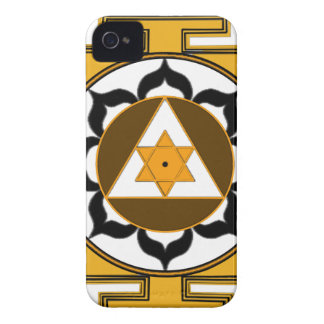 Ganesh Yantra Case-Mate iPhone 4 ケース