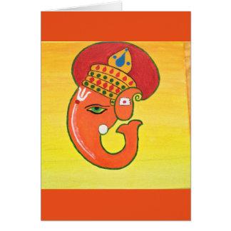 Ganeshaすべての障害の除去剤 カード