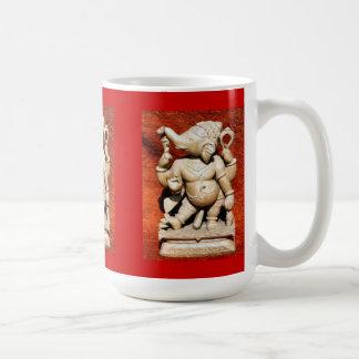 Ganeshaのヒンズー教の神 コーヒーマグカップ