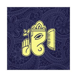 Ganeshaのヒンズー教神のキャンバスの壁の芸術 キャンバスプリント