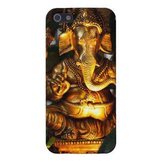 Ganeshaの彫像の電話箱 iPhone 5 ケース