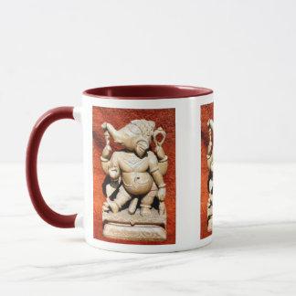Ganeshaの彫像 マグカップ