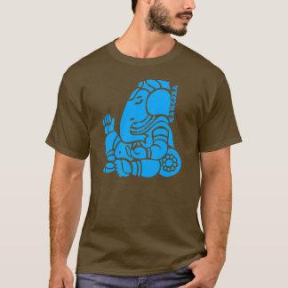 ganeshaの青2 tシャツ