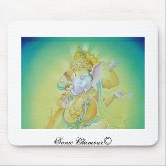 Ganeshaはlove マウスパッド