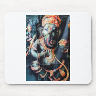 Ganesha象のヒンズー教の成功の神 マウスパッド