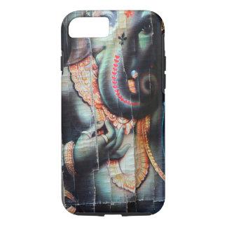 Ganesha象のヒンズー教の成功の神 iPhone 8/7ケース