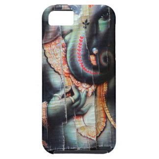 Ganesha象のヒンズー教の成功の神 iPhone SE/5/5s ケース