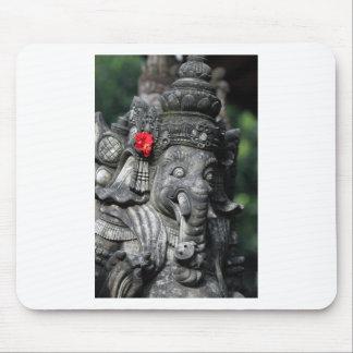 Ganesha象のヒンズー教の神 マウスパッド