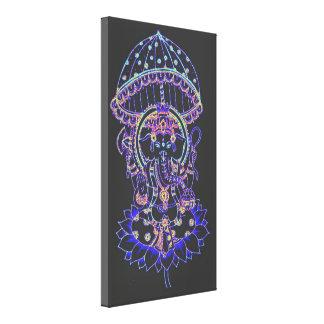 Ganesha象の女神 キャンバスプリント