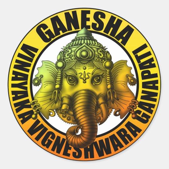 Ganesha2 ラウンドシール