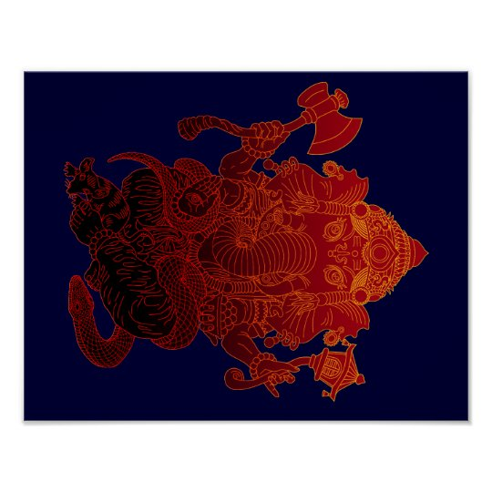 Ganesha3 ポスター