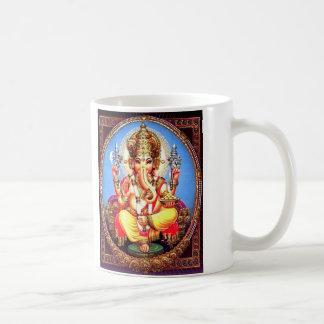 Ganesha (गणेश)のインドゾウ コーヒーマグカップ