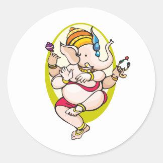 Ganesha ラウンドシール