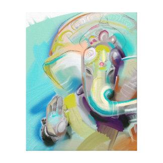 Ganesha -象仏-キャンバスの芸術のプリント キャンバスプリント