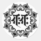 Ganesha bonji(B) ラウンドシール