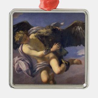 Ganymede 1700年の外転(キャンバスの油) メタルオーナメント