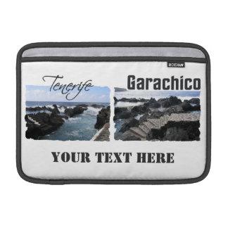 Garachico、テネリフェ島のカスタムなiPad/ラップトップスリーブ MacBook スリーブ