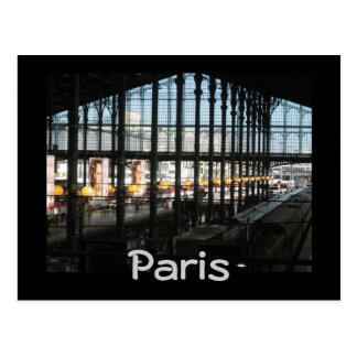 Gare du Nord ポストカード