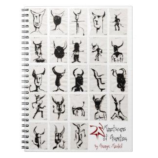 Garitsaの23のminotaurs ノートブック