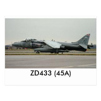 Garrier GR9 ZD433 (45A) ポストカード